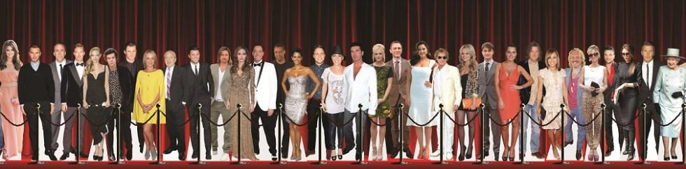 Celebrity Cutouts Red Carpet