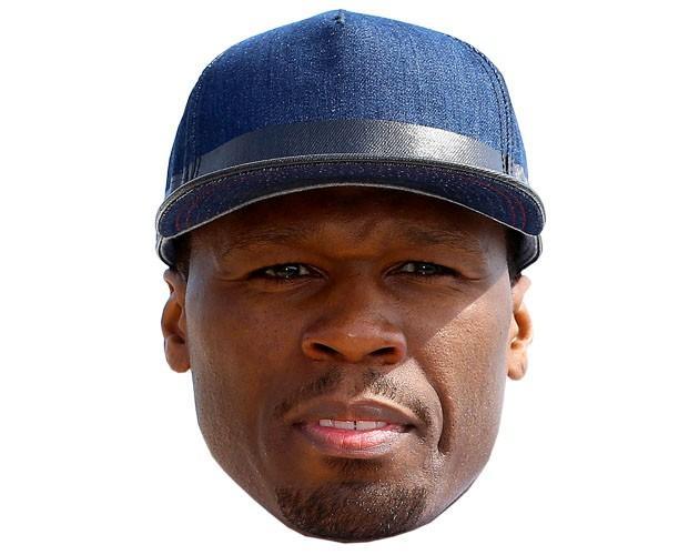 50 Cent Maske aus Karton