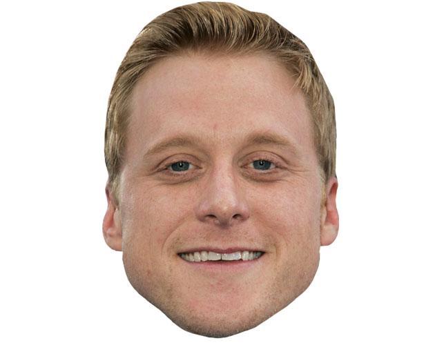 Alan Tudyk Celebrity Maske aus Karton