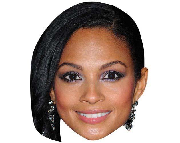Alesha Dixon Maske aus Karton