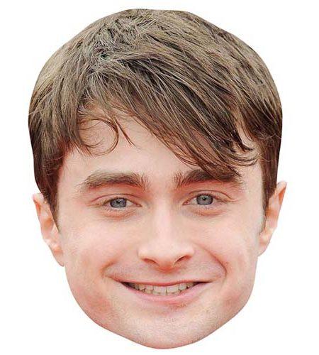Daniel Radcliffe Maske aus Karton