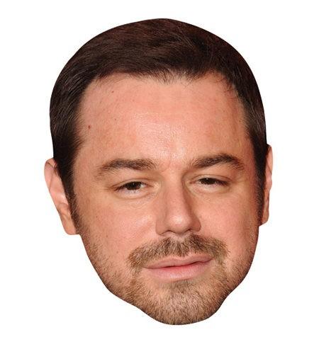 Danny Dyer Maske aus Karton