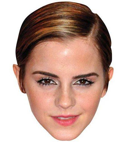 Emma Watson Maske aus Karton