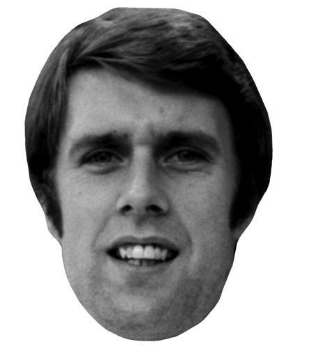 Geoff Hurst Celebrity Maske aus Karton