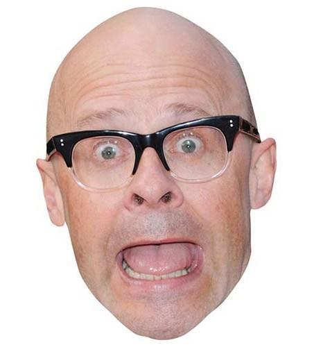 Harry Hill Maske aus Karton