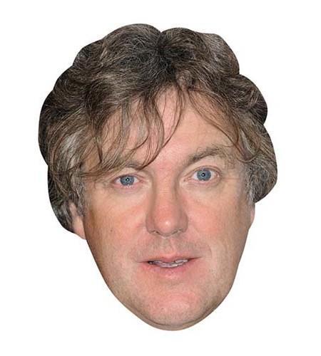 James May Maske aus Karton