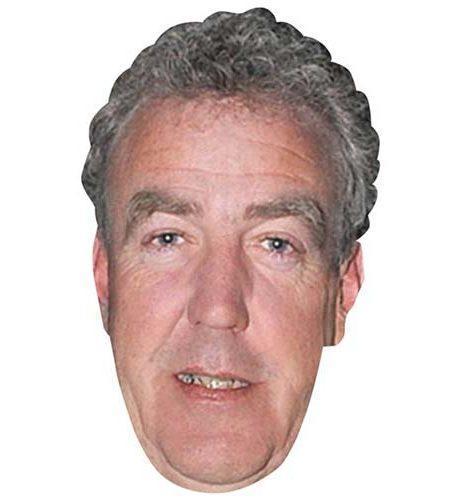 Jeremy Clarkson Maske aus Karton