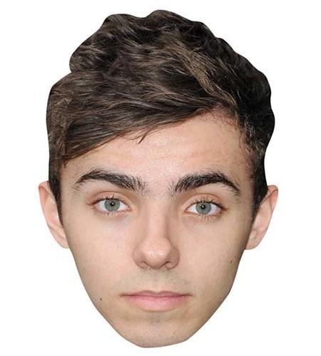 Nathan Sykes Maske aus Karton