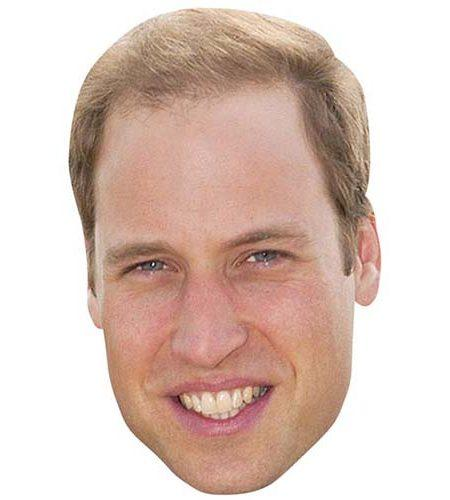 Prince William Maske aus Karton