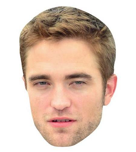 Robert Pattinson Maske aus Karton