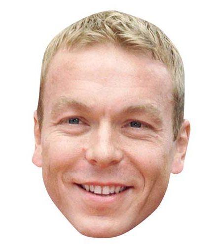 Chris Hoy Maske aus Karton