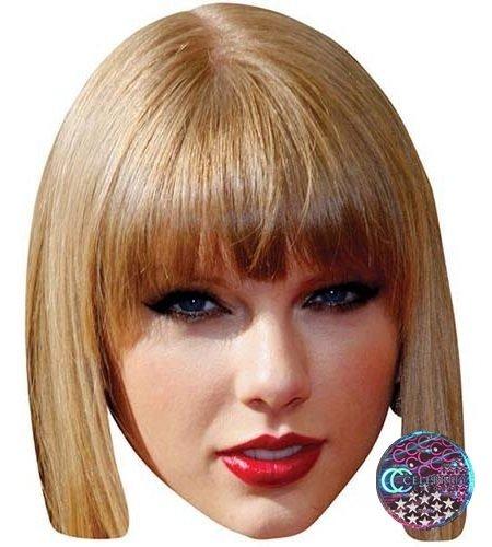 Taylor Swift Maske aus Karton