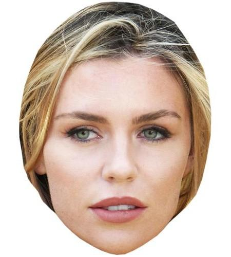 Abbey Clancy Celebrity Maske aus Karton