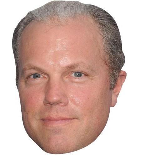 Adam Baldwin Celebrity Maske aus Karton