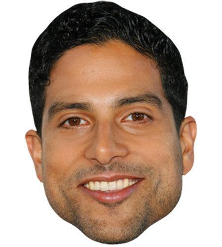 Adam Rodríguez Celebrity Maske aus Karton