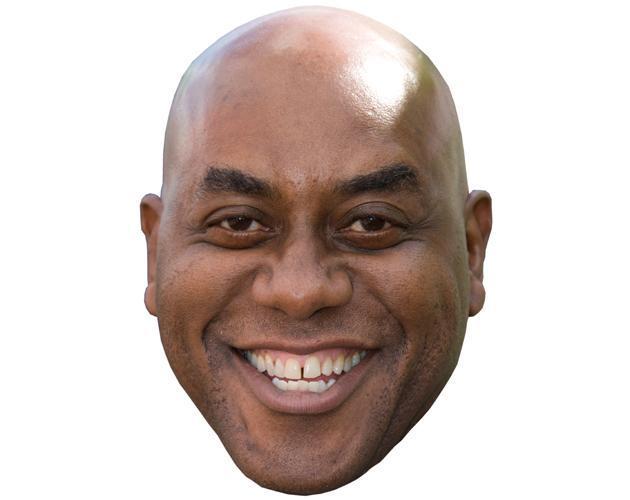 Ainsley Harriott Celebrity Maske aus Karton