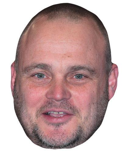Al Murray Celebrity Maske aus Karton