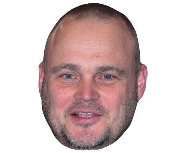 Al Murray Celebrity Maske aus Karton