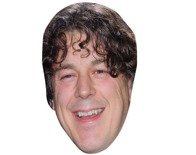 Alan Davis Celebrity Maske aus Karton