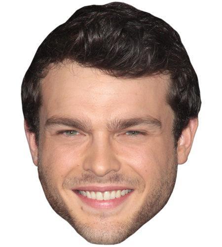 Alden Ehrenreich Celebrity Maske aus Karton