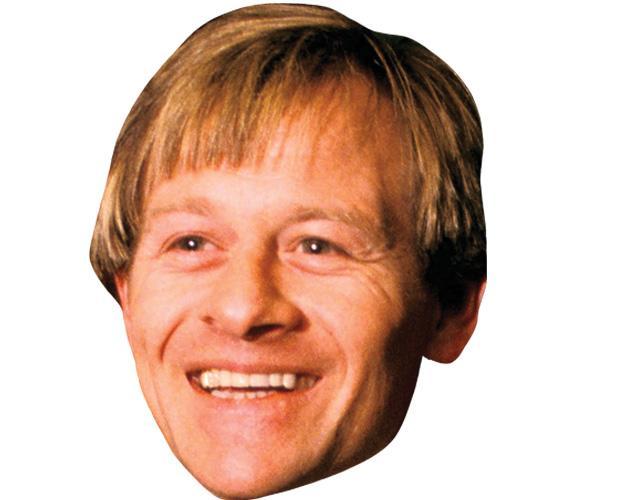Alex Higgins Celebrity Maske aus Karton