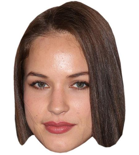 Alexis Knapp Celebrity Maske aus Karton