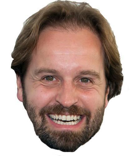 Alfie Boe Maske aus Karton