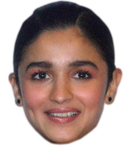 Alia Bhatt Celebrity Maske aus Karton