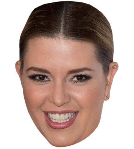 Alicia Machado Celebrity Maske aus Karton