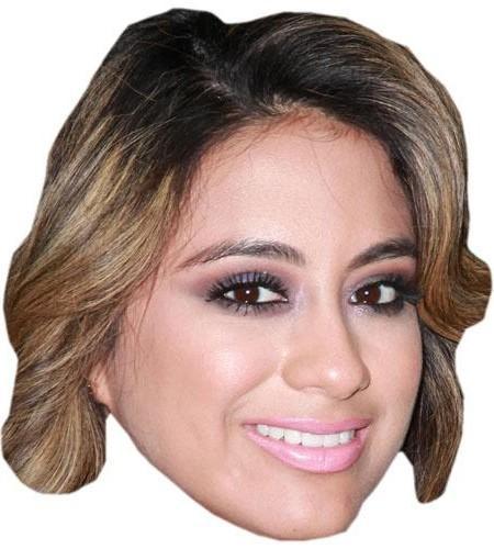 Ally Brooke Celebrity Maske aus Karton