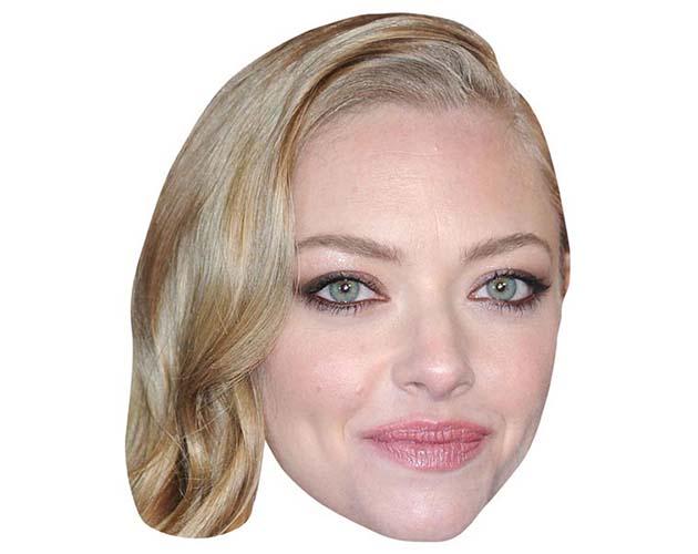 Amanda Seyfried Maske aus Karton