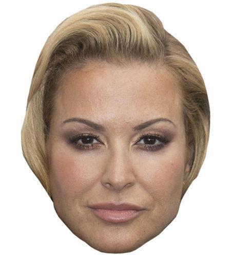 Anastacia Celebrity Maske aus Karton
