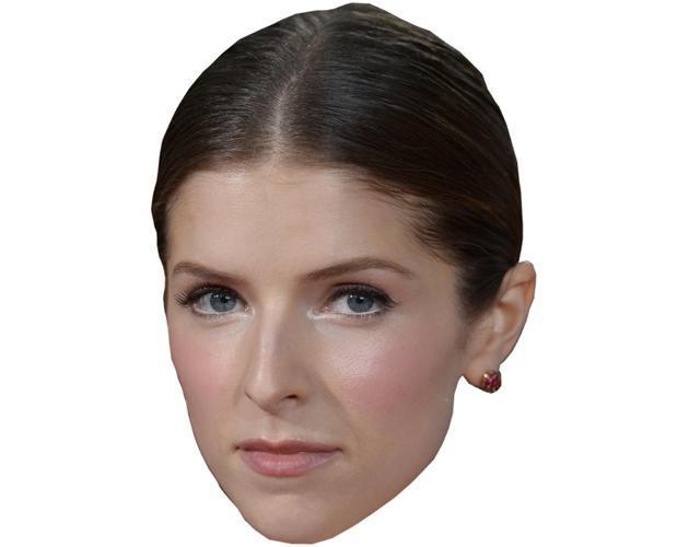 Eine Maske von Anna Kendrick Celebrity macht aus jeder Party ein ...