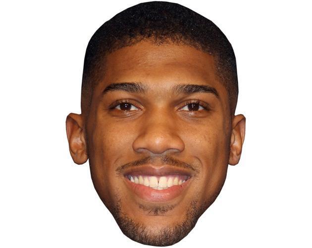 Anthony Joshua Celebrity Maske aus Karton