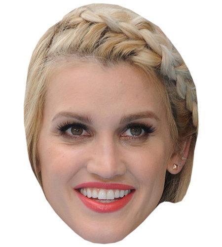 Ashley Roberts Celebrity Maske aus Karton