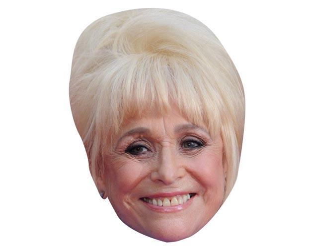 Barbara Windsor Maske aus Karton