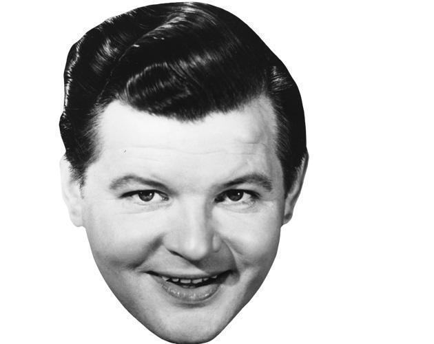 Benny Hill Celebrity Maske aus Karton
