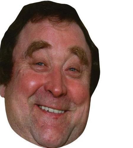 Bernard Manning Celebrity Maske aus Karton