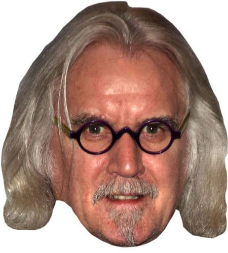 Billy Connolly Maske aus Karton
