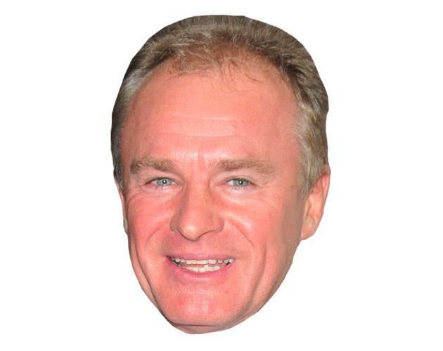 Bobby Davro Celebrity Maske aus Karton