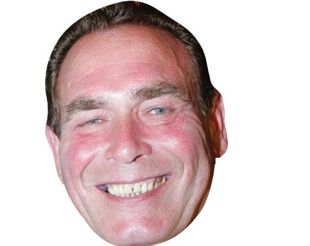 Bobby George Celebrity Maske aus Karton