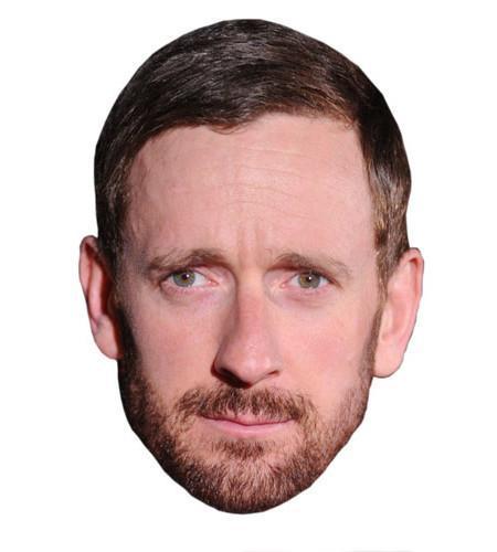 Bradley Wiggins Celebrity Maske aus Karton