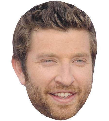 Brett Eldredge Celebrity Maske aus Karton