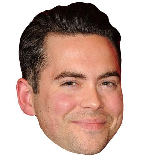 Bruno Langley Celebrity Maske aus Karton
