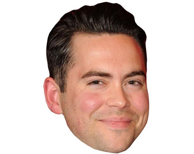 Bruno Langley Celebrity Maske aus Karton