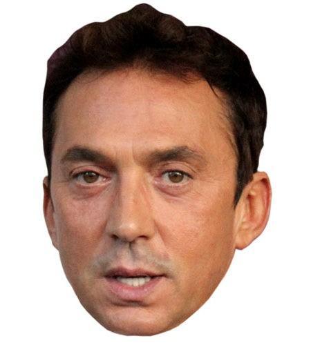 Bruno Tonioli Maske aus Karton