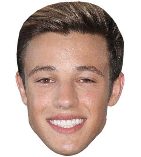 Cameron Dallas Celebrity Maske aus Karton