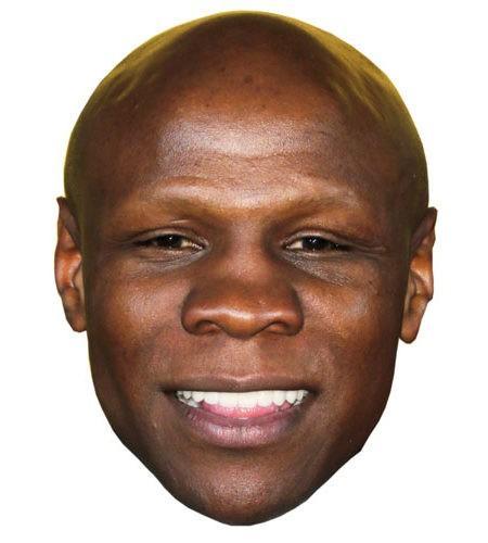 Chris Eubank Maske aus Karton