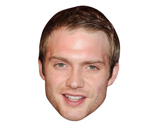 Chris Fountain Maske aus Karton