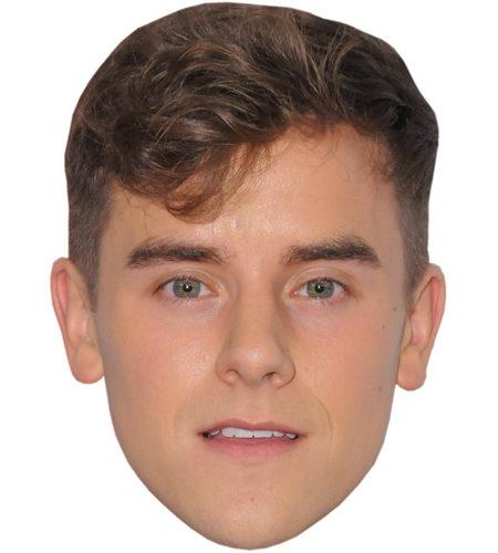 Connor Franta Celebrity Maske aus Karton